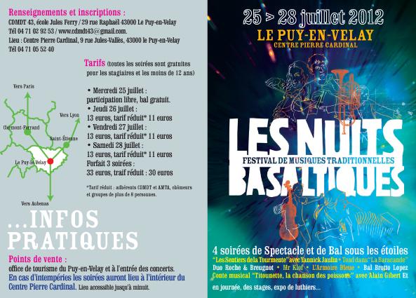 Les Nuits Basaltiques : un avant-goût en se promenant dans le Puy-en-Velay