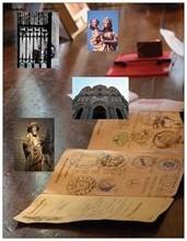 Créantiale et sceau, photo laterrassedemarie.com, prise dans la sacristie du Puy. Tous droits réservés, reproduction interdite