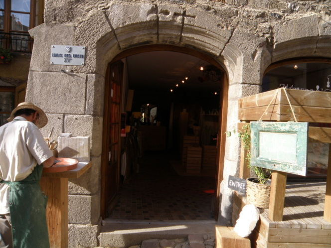 Thierry Devun, Sculpteur rue des Tables au Puy-en-Velay