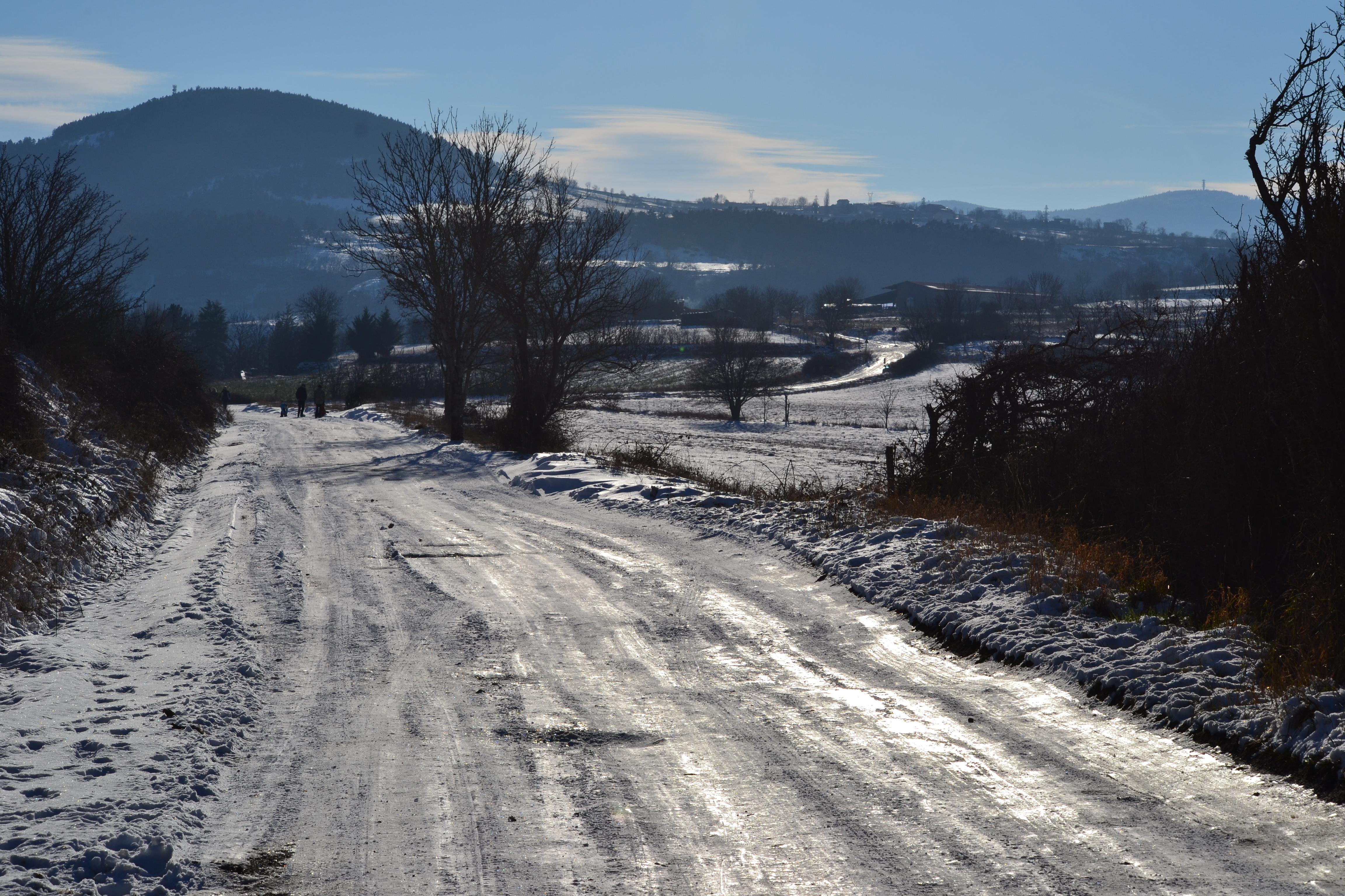 Neige et ballade au Puy-en-Velay