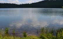 Le Lac du Bouchet, ecco l'eau pure ( ecolo pur!)