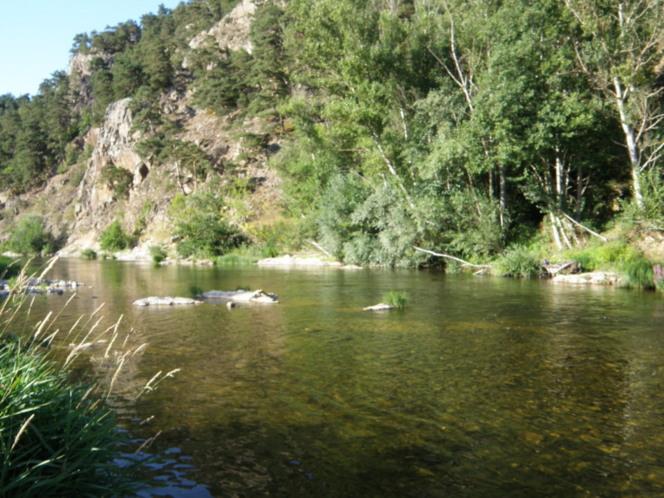La Loire peut rivaliser avec l'Ardèche : se baigner près du Puy-en-Velay
