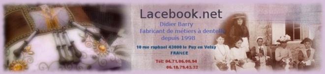 Lacebook.net : un magasin de dentelles en ligne, ou bien en réel au Puy!