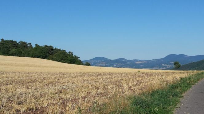 Un air de Provence en Haute-Loire, moi qui voulais aller au Sud...