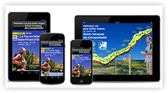 Chemin de Compostelle : l'application smartphone Le Puy-St privat d'Allier.
