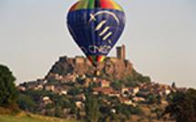 Découvrir le Puy en Velay en Montgolfière, en Novembre chaque année.